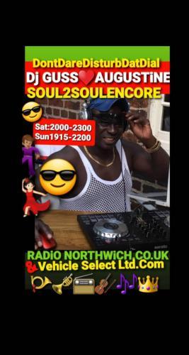 Radio Northwich Presenter Dj GUSS AUGUSTiNE