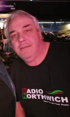 Radio Northwich Presenter Chris Wilkinson