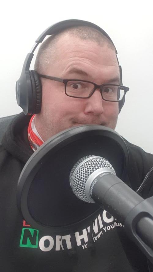 Radio Northwich Presenter Crouchy