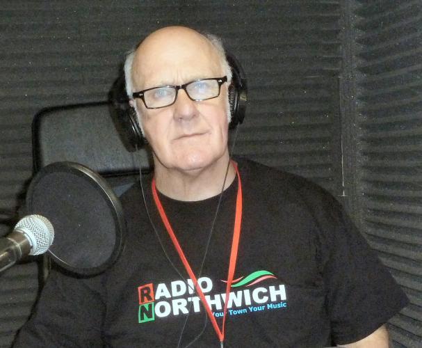 Radio Northwich Presenter Jeff Stuart