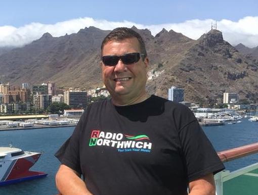 Radio Northwich Presenter Kenny Boyd