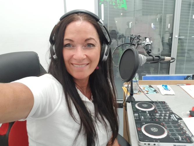 Radio Northwich Presenter Emma Joy