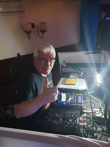 Radio Northwich Presenter Dennis Griffiths