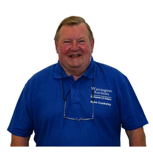 Radio Northwich Presenter Mike Cooksley