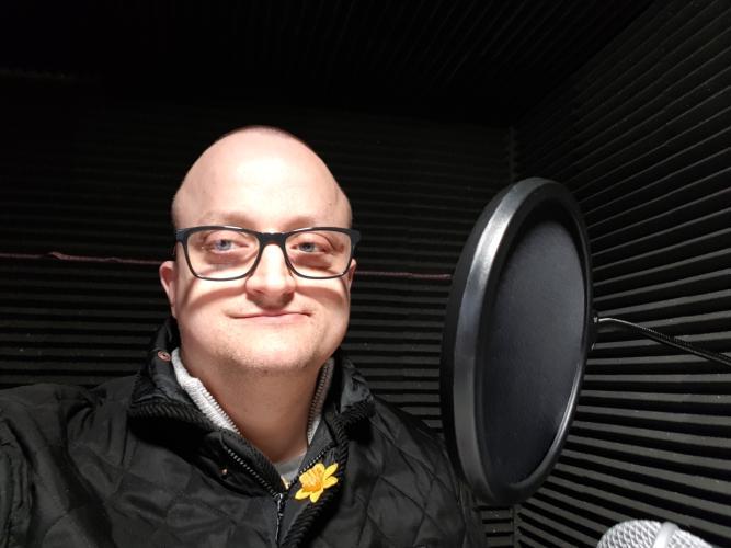 Radio Northwich Presenter Wayne Storey
