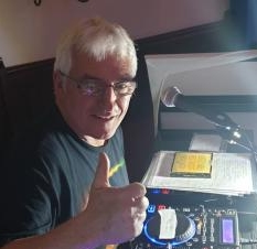 Radio Northwich Presenter Dennis Griffiths
